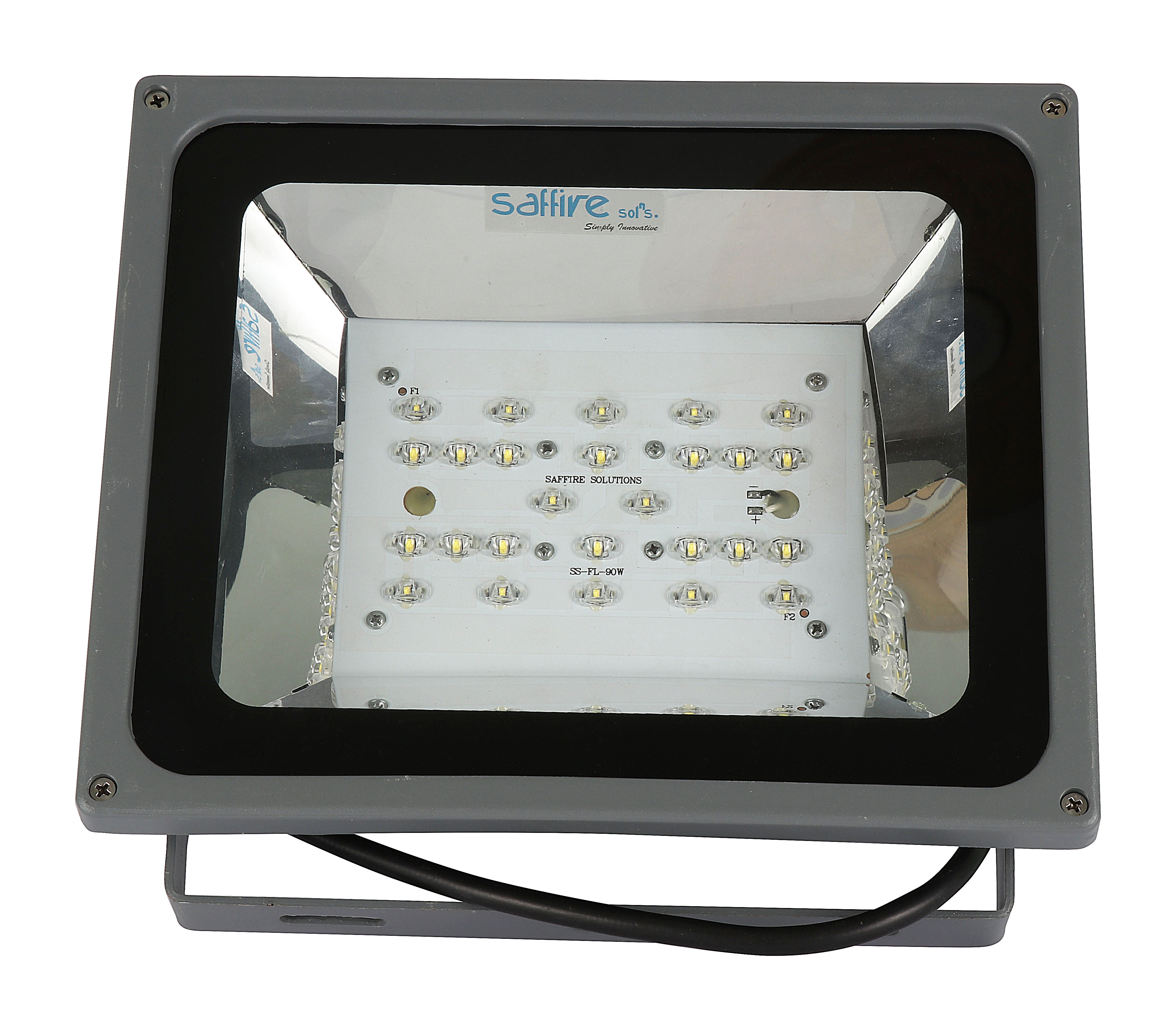 led flood light front view