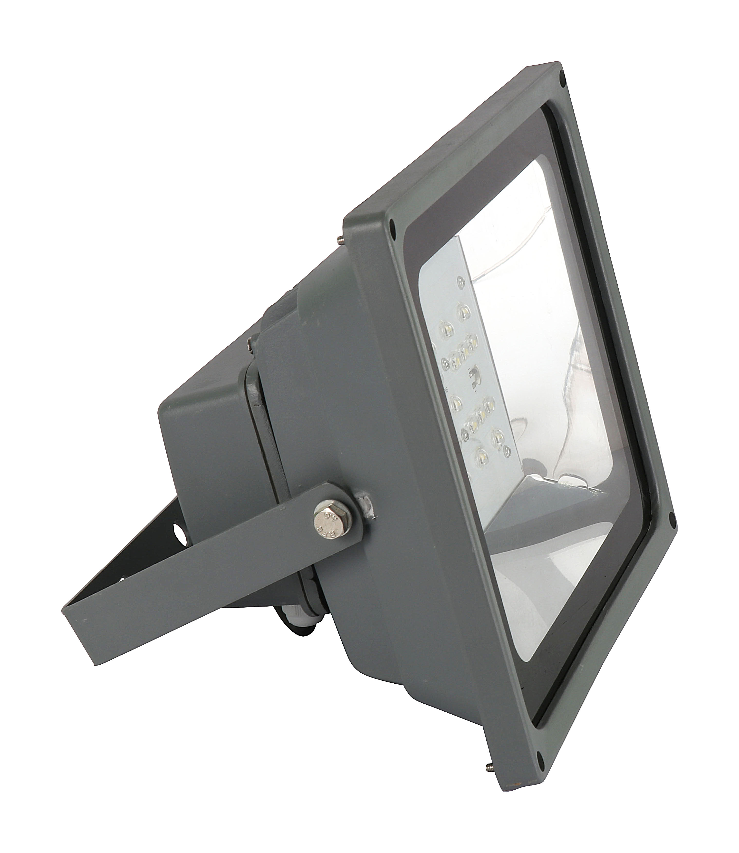 led flood light side view